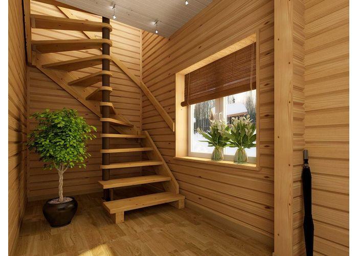 Лестницы своими руками для дома на второй этаж фото